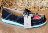ARIAT Women's Cruiser Black Suede/Popl Floral (available in store only, King City)