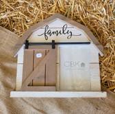 CBK Inspired Home Barn Picture Frame Family 5 x 7