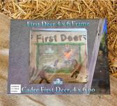 Rivers Edge Cadre First Deer 4 x 6 Frame (King City)