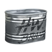 HW BRAND HUTCHISON Galvanized Stock TANK with round ends 2'w x 2'h x 3'l  (72 gallon) for instore pick up only