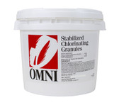 Omni Stabilized Chlorine Granules 25 lb. (TEMPORARILY OUT OF STOCK)