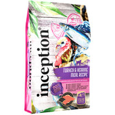 NEW Cat Food, Inception Turkey & Herring 4 lb. SAVE now... introductory offer!