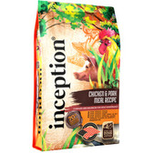 NEW Dog Food, Inception Chicken & Pork Meal Recipe 4 lb. SAVE now... introductory offer!
