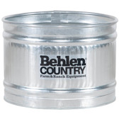 Waterers, Behlen 3' wide and long x 2' deep Round Galvanized Water Tank (available for in store pick up only)