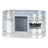 Waterer, Behlen 224 Galvanized Round End Tank w/Drinker 2' wide x 2' high x 4' length (approx. 100 gal.) available for in store pick up only