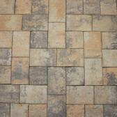 """Concrete Masonry Units, Roman-Cobble Pillow-Top (Stock Colors) """"Lopez Blend"""" Pavers (Special Order 831-385-4841)"""