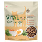 """NEW Freshpet VITAL® Refrigerated Cat Food, GRAIN FREE, CHICKEN RECIPE, ANTIOXIDANT-RICH, Verified Non GMO, 1 lb.  """"REAL FRESH from the Fridge""""  (Available for in-store pick up only, exclusively from our King City Feed Store)"""