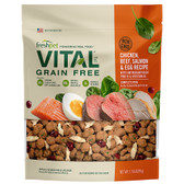 NEW Freshpet Vital Grain Free, Chicken, Beef, Salmon, & Egg Recipe Complete (Refrigerated-fresh) Dog Food, 1.75 lb.  (Available for in store pick up only, in King City)