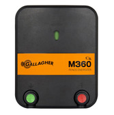 Gallagher Electric Fencing Component, M360 Mains Fence Energizer 110V #G323504