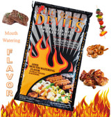 Lil Devil Barbecue Pellets, all-natural wood is good for the environment, 20 lb. (hickory flavor)