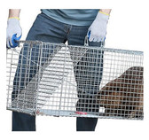 Havahart Live Animal Cage Trap (one door) #1081 (for armadillos, beavers, bobcats, cats, dogs, foxes, groundhogs, opossums, and raccoons)