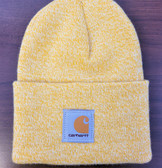 Beanie, Carhartt Knit Cuffed Beanie Watch Hat (creamy yellow) Stretchy...one Size Fits Adults Small Medium Large
