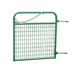 """Gate, Western Square (GREEN) Wire Filled Gate 48"""" high x 4' wide  (IN STORE PICK UP ONLY)"""