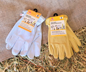 Red Steer soft Leather Work Gloves (available in store only)