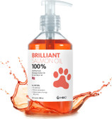 Dog and Cat Supplement, Hofseth BioCare Norwegian Brilliant Cardio Salmon Oil in easy dose squirt bottle, for Dogs and Cats, 32 oz.