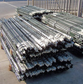 W.L. Silver 125 T-Post, Heavy Duty 6 ft. Green with White Tips (In Store PICK UP Only)
