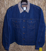 Wrangler Men's Denim Jacket, Saddle Blanket Lined, size 50 (In Store Only)