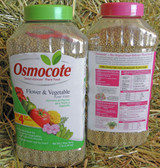Osmocote Smart Release Flower and Vegetable Plant Food, 3 lb.