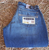 Men's Pants, Cinch Carter Men's Jeans, individually-uniquely dyed  (In Store Only)