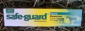 De-Wormer, Intervet Safe-Guard (fenbendazole) Equine Dewormer 25 gram paste 10%