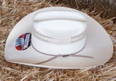 Resistol Natural Tan Straw Hat, 7 1/4, 4 1/2 Brim, Oval, (IN Store Only)
