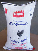 King Brand Cal Grande Calexico Feed, 50 lb. For Poultry  (quality ingredients, Made & Packaged in the USA)