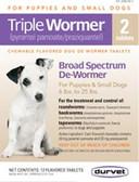 Dog Health, Durvet Triple Dog Wormer, for small dogs