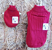 Outdoor Dog Sweater (small) Red