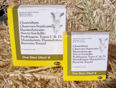 Cattle Vaccine, Pfizer Cattle Vaccine, One Shot Ultra 8, 10 Dose (bovine vaccine) In Store PICK UP Only