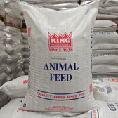 Rabbit Food, KING Cloverleaf Complete Rabbit Feed 16%, 50 lb.  (quality ingredients, made and packaged in the USA)