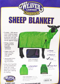 Weaver Lamb Blanket, royal blue color, size large