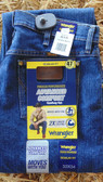Men's Pants, Wrangler Men's Regular Fit Premium Performance Advanced Comfort Cowboy Cut Jeans