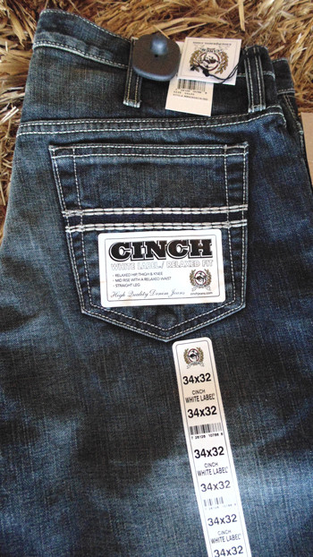 9a6c8007 Cinch Men's White Label Relaxed Fit Jeans - hearnestore