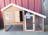 "SAVE on all RABBIT Products in July! Cape Cod Chicken Coop / Rabbit Hutch 62"" Long x 32"" Wide x 42 "" High  Special Order"