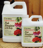 E. B. Stone Organics Fish Emulsion With Kelp, 1 qt.