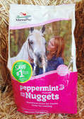 Manna Pro Peppermint Flavor Bite Size Nuggets, Horse Treats, 5 lb.
