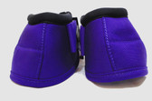 Horse Ballistic Overreach Boots 1 Pair, Left & Right Foot Medium Size, Purple