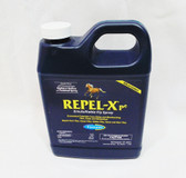 Farnam Repel-X pe Emulsifiable Fly Spray, 1 qt. Concentrated (must be mixed with water) Fly Spray for Horses