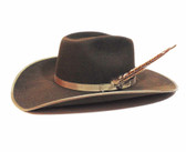 Resistol Men's Felt Hat, Holt, Bound, Reg Oval Cordova/Brown, 4 1/4 inch brim (Available In Store Only)