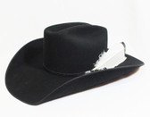 Felt Cowboy Hat, Resistol Men's Felt Hat, High Card, Black, 4 1/2 inch brim (Available In Store Only)