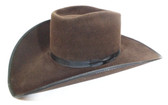 Rodeo King Men's Felt Hat, Vegas, Chocolate, 4 1/2 inch brim (Available In Store Only)