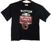 Cowboy Hardware Heavy Cotton Boys Black T Shirt, shown in size medium (Available In Store Only)