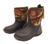 Boy's and Girl's Boots, Smoky Mountain Kids Rubber Boots, Camo Amphibian (In-Store-Only)
