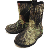 Bogs Kids Classic Camouflage Mid High Mossy Oak Water Proof Boots,  Youth Size 13 (In-Store-Only)