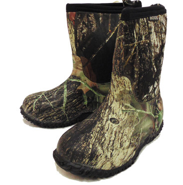 1bf5316464c3e Bogs Kids Classic Camouflage Mid High Mossy Oak Water Proof Boots ...