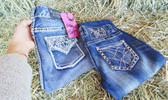 For a limited time, SAVE on Selected Ladies Jeans!  Pictured:  Rock And Roll Cowgirl Jeans (in-store-only)