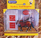 Breyer Mystery Foal Surprise (Small Chestnut & Gray Colts)