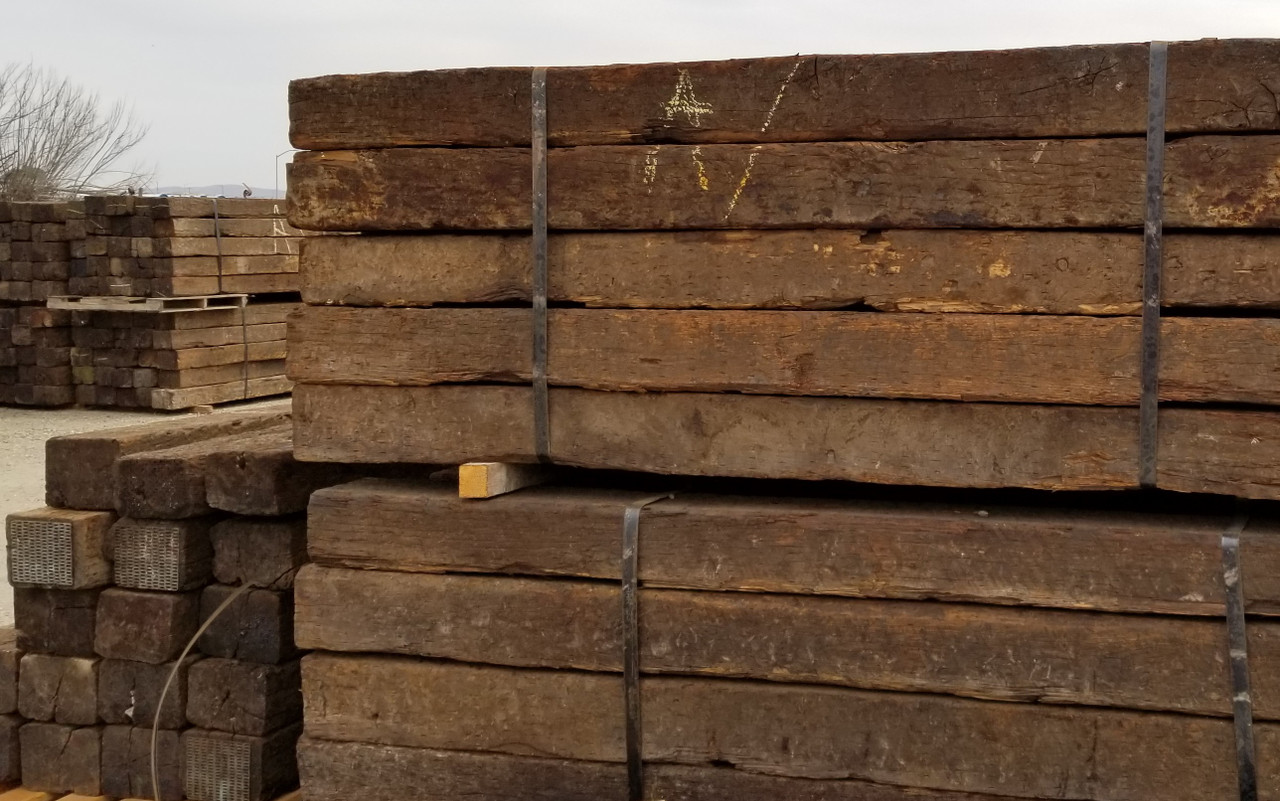 Railroad Ties 9' rustic used (AVAILABLE IN-STORE ONLY, CONTACT STEVE AT  L A  HEARNE CO  KING CITY 831-385-4841