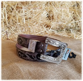 For a limited time SAVE on ALL LADIES BELTS!  Pictured:  Nocona Ladies Belt & Buckle (in-store-only KC)