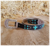 FOR A LIMITED TIME SAVE ON ALL LADIES BELTS! Pictured:  Blazin Roxx Ladies Belt & Buckle (in-store-only KC)